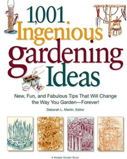 Book - All 1,001 Ingenious Gardening Ideas
