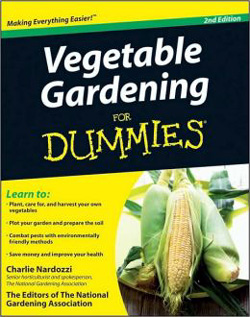Book - Vegetable Gardens for Dummies