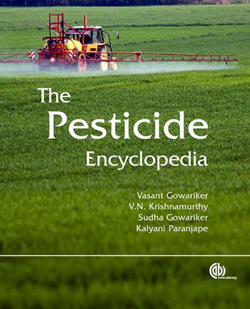 Book - The Pesticide Encyclopedia