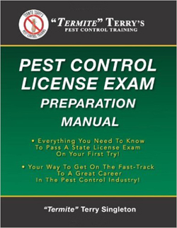 Book - Termite Terrys Pest Control License Exam Preparation Manual